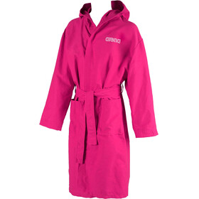 arena Zeal Bathrobe fuchsia-white